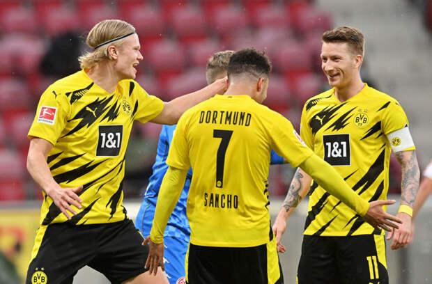 «Боруссия» обыграла «Майнц» и завоевала путевку в Лигу чемпионов