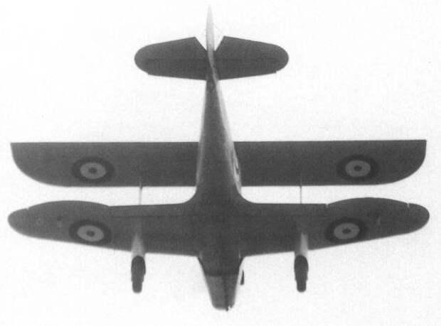 Экспериментальный самолёт Hillson Bi-Mono (Великобритания)