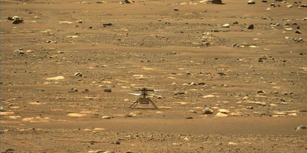 Марсианский вертолёт NASA впервые перелетел в новый район исследований