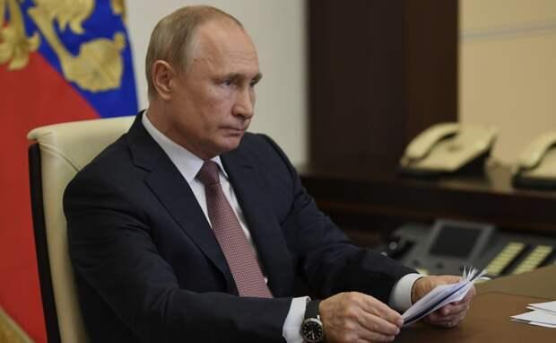 Развожаев попал под горячую руку Путина