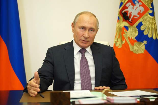 Путин заявил о готовности к любому развитию ситуации с COVID-19
