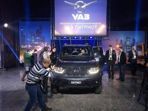Обновленный УАЗ Патриот нацелился на экспорт