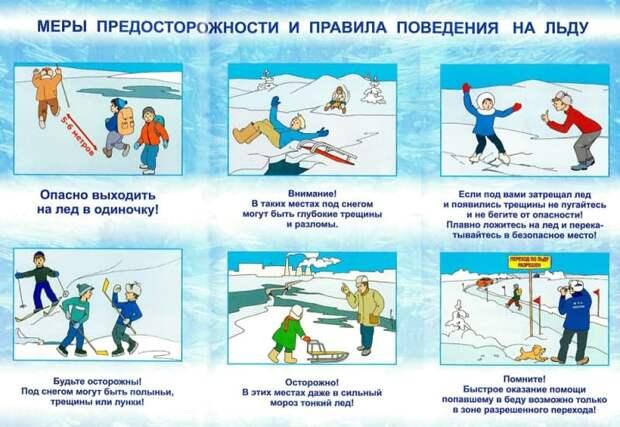 Спасатели ЮВАО проведут открытые уроки по безопасности в зимнее время