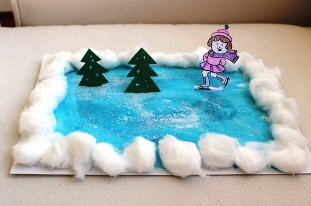 Зимние поделки для детского сада