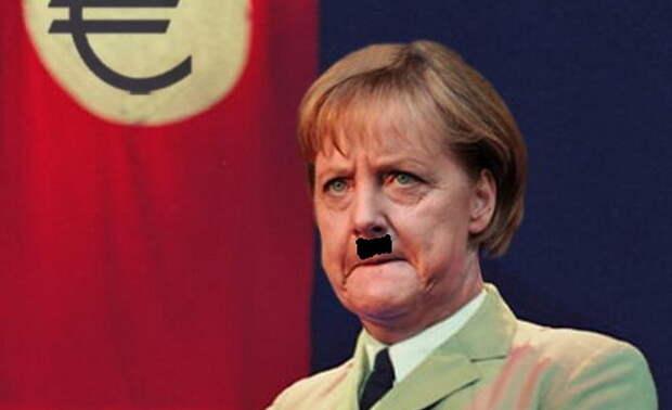 Меркель-Рейх борется за Украину