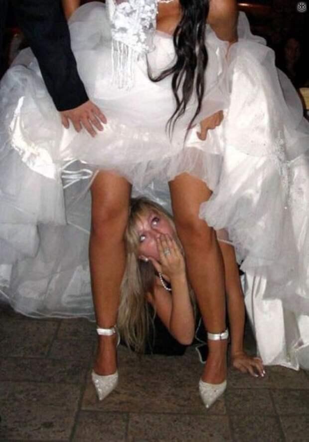 Прикольные свадебные торжества 22