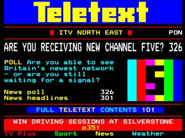 В середине девяностых популярностью пользовалась функция телетекста с информацией о погоде, ТВ-программе и т.д. / Фото: tvwhirl.co.uk