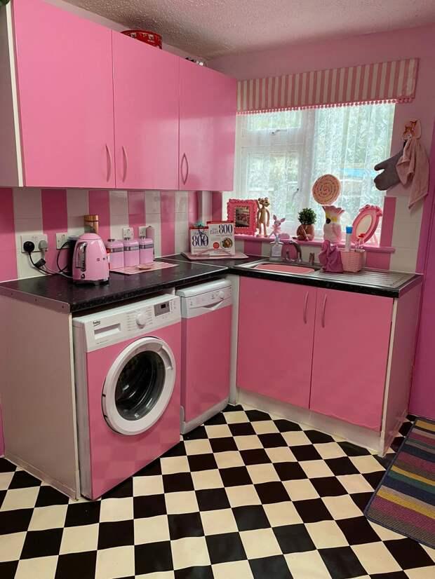Как быстро инедорого превратить скучную кухню врай для Барби