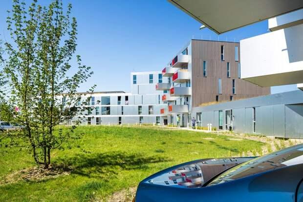 Благоустройство дворов социального жилья в Европе