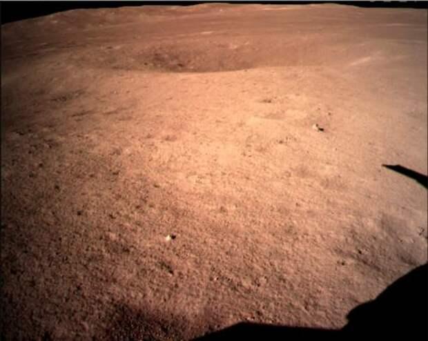 луна, зонд, кратер, chang'e