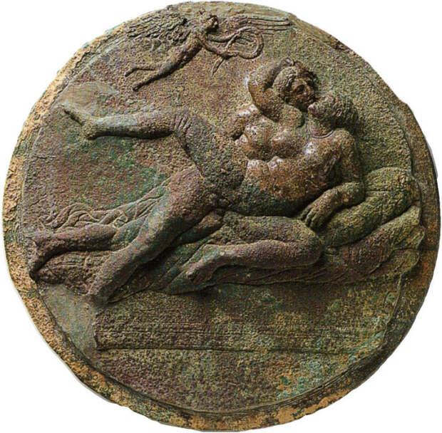 Эротическое искусство древних греков, около 320 г. до н.э.   Фото: commons.wikimedia.org.