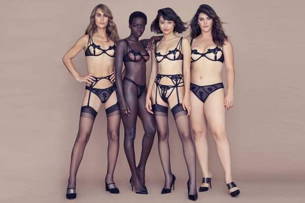 Гордость за плюс-сайз: 5 прикольных рекламных кампаний, воспевающих красоту большого размера