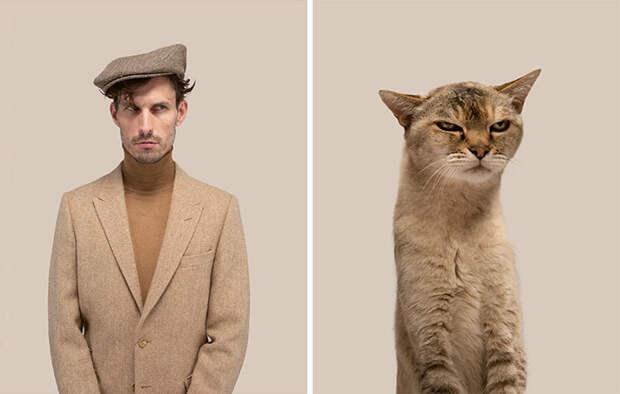 Фотограф делает снимки людей икотов, которые выглядят как двойники | Канобу - Изображение 7