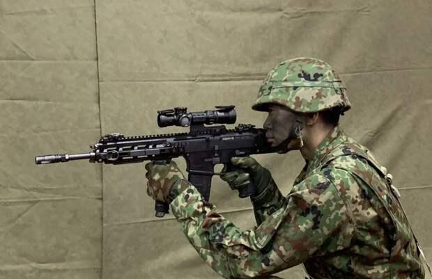 Силы самообороны Японии получат на вооружение новую винтовку и пистолет