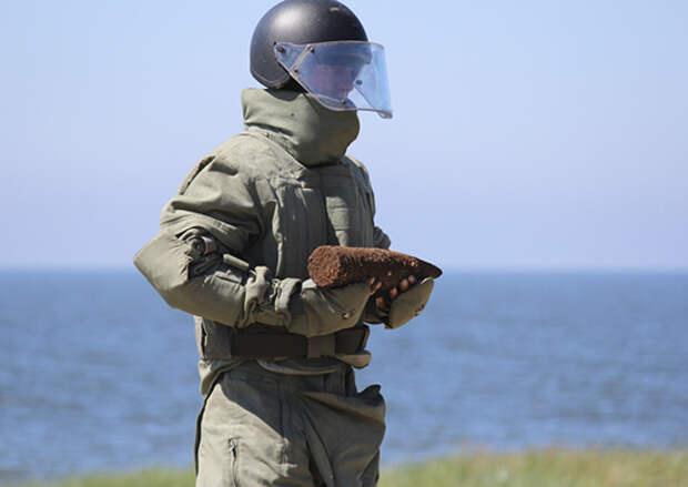 Саперы Балтийского флота обезвредили около 10 тысяч артиллерийских боеприпасов времен Великой Отечественной войны в Калининградской области