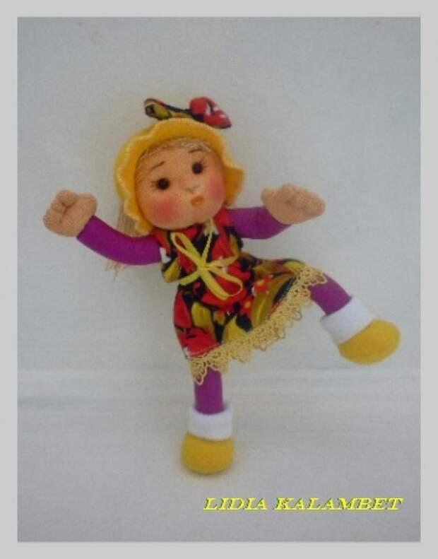 Какие прекрасные куклы получаются из бигудей . Делаются очень просто