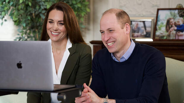 Принц Уильям и Кейт Миддлтон YouTube-канал