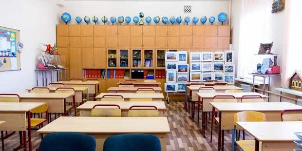 В школе на Усиевича проходит комплексное благоустройство
