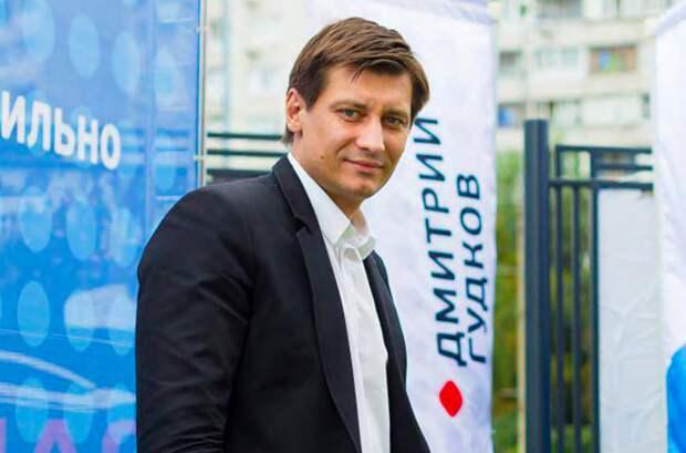 Дмитрия Гудкова задержали по подозрению в причинении имущественного ущерба