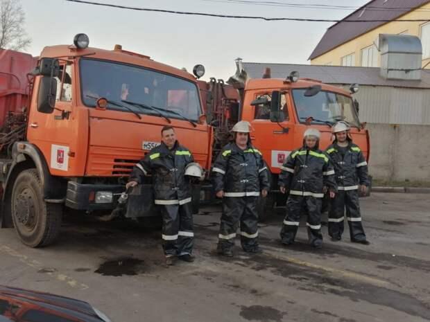 Добровольцы / Фото: Пресс-служба МЧС по ЮВАО