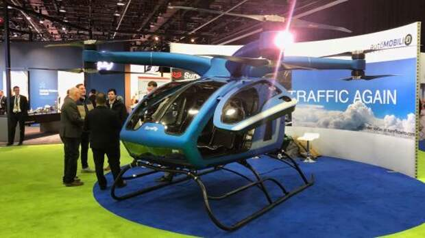 Workhorse Group представила пассажирский дрон SureFly Octocopter