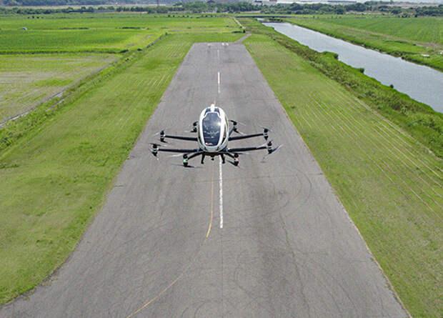 Аэротакси EHang совершило первый автономный полет в Японии