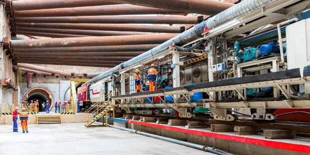 Активное строительство Большой кольцевой линии метро продолжается в Москве
