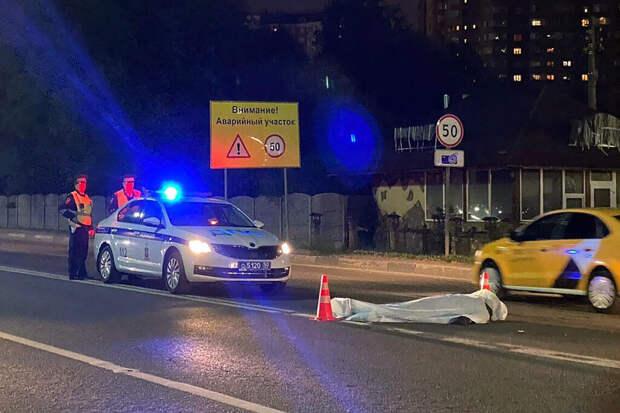 Названа причина половины смертельных аварий на дорогах в Москве