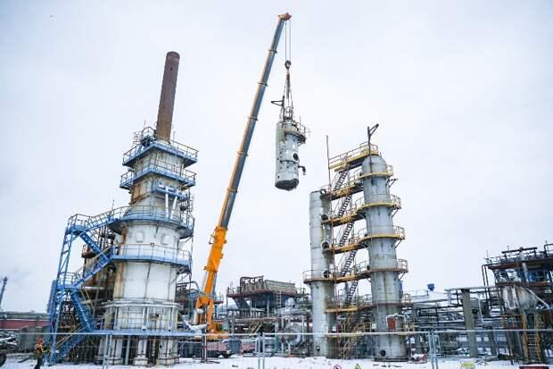 Московский НПЗ демонтирует устаревшие установки
