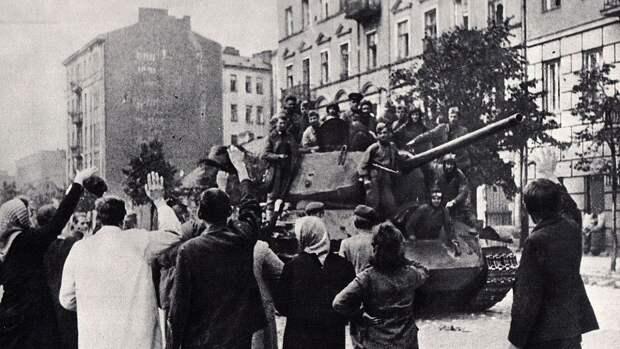 Минобороны РФ рассекретило документы об освобождении Польши армией СССР