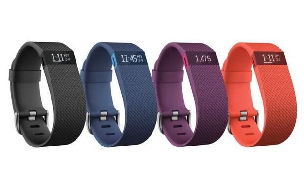 Фитнес-трекер: Fitbit Charge HR.