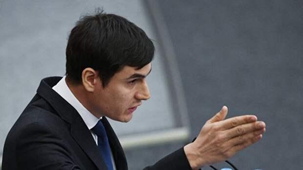 Депутат Государственной Думы РФ Сергей Шаргунов