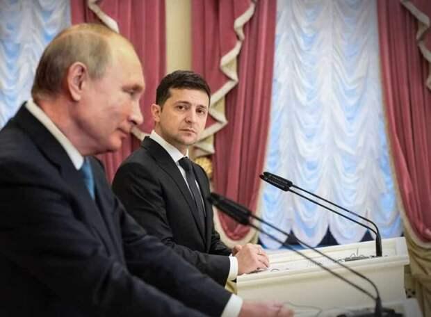 Пресс-секретарь Зеленского заявил, что президент готов встретиться с Путиным «с глазу на глаз»
