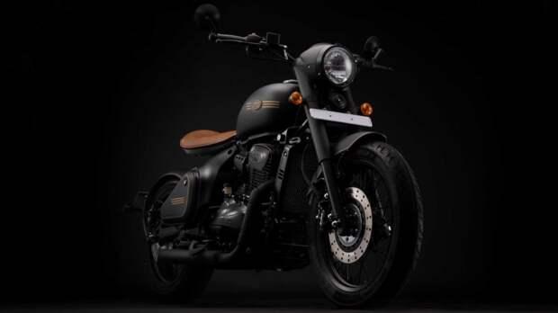 5 фактов о мотоцикле Jawa Perak из Индии