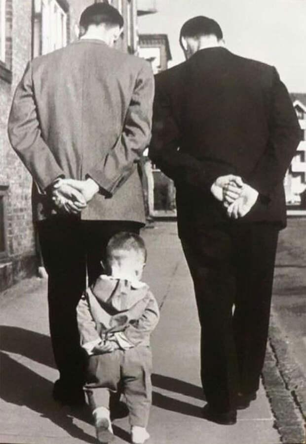 Связь времен: семьи, в которых у внуков есть дети