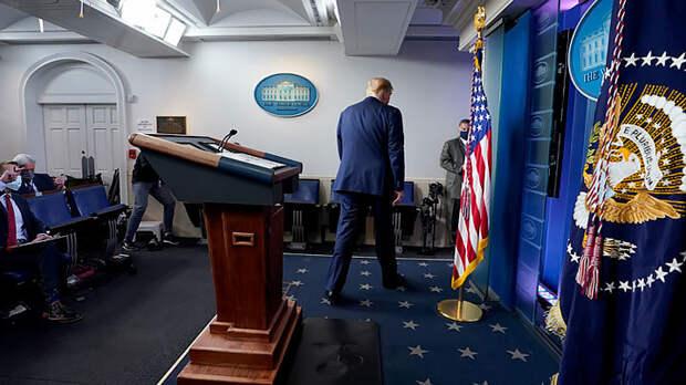 Госпереворот в США – Глубинное государство пожирает Трампа