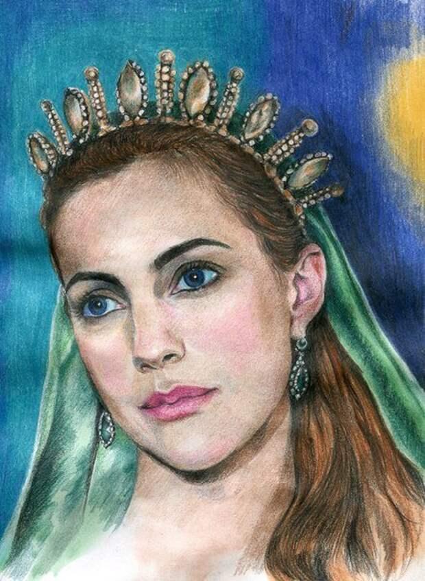 «Великолепный век» в живописи: герои любимого сериала в работе талантливых художников