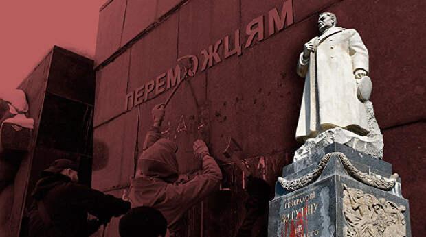 У памятников Великой Отечественной войны на Украине тяжелая судьба