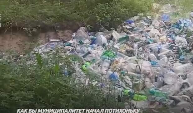 Шесть лет невывозят мусор сЗеленого острова вРостове