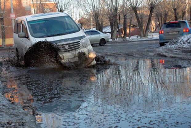 ОНФ выделил самые аварийные участки дорог России