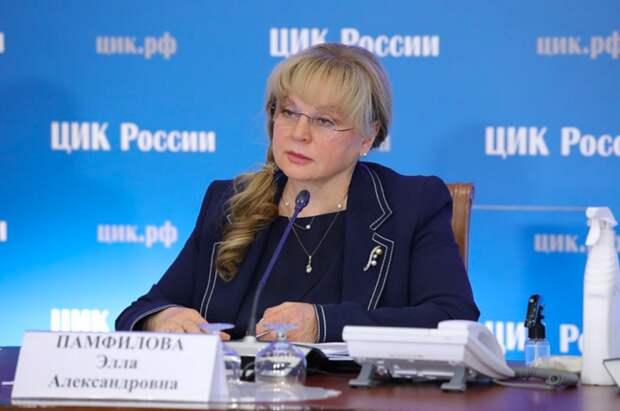 Памфилова прокомментировала видео с фальшивым избирательным участком