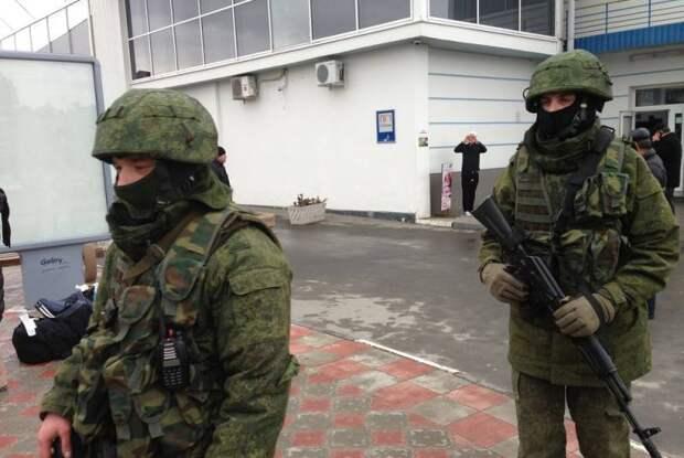 В МИД Польши надеются, что «зелёные человечки» в Минске не появятся