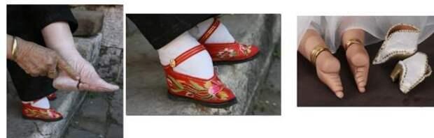 Картинки по запросу В Китае с X и вплоть до начала XX века был принят «причудливый эротический обычай» (как его назвал один европейский исследователь-мужчина) — бинтование ног женщин.