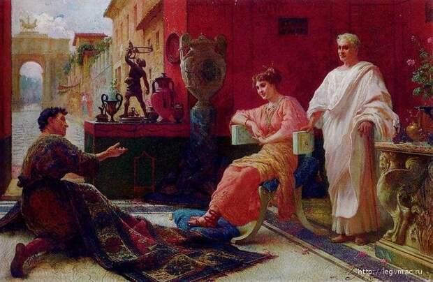 Чему учили в древнеримских школах?