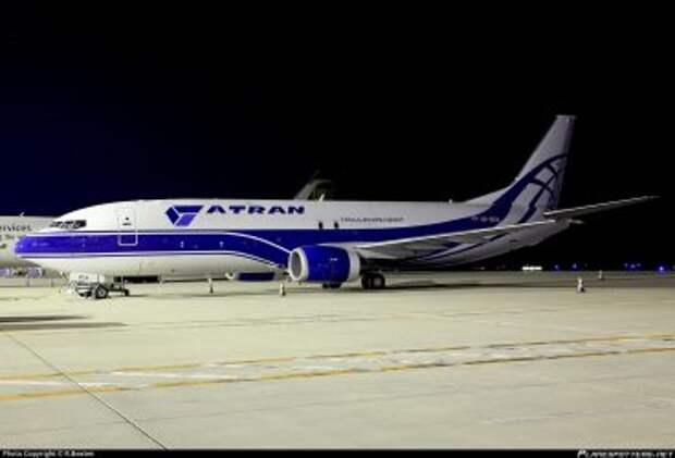 Boeing 737-46QSF авиакомпании Atran