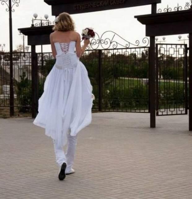 Прикольные свадебные торжества 19