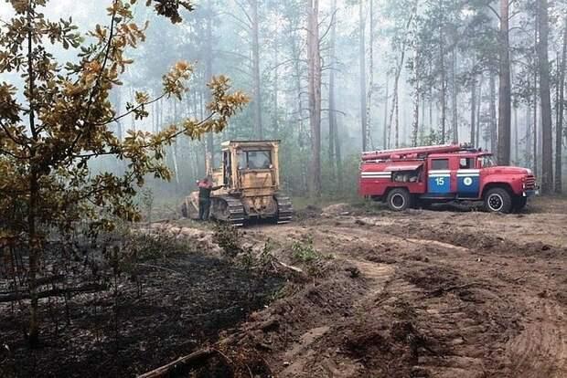 Режим ЧС из-за пожаров ввели в двух районах Иркутской области