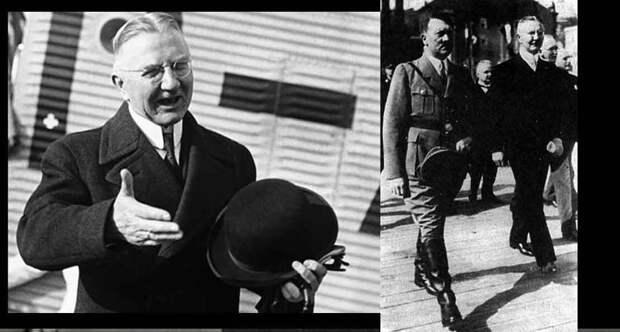 Ялмар Шахт и Гитлер
