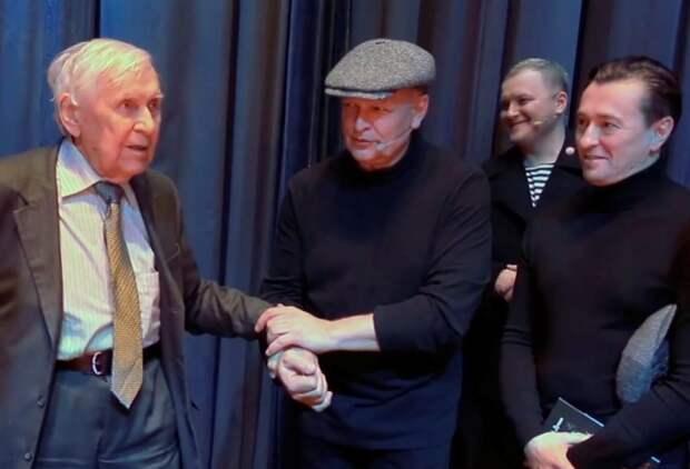 Директор Театра на Таганке Николай Дупак отметил 100-летний юбилей