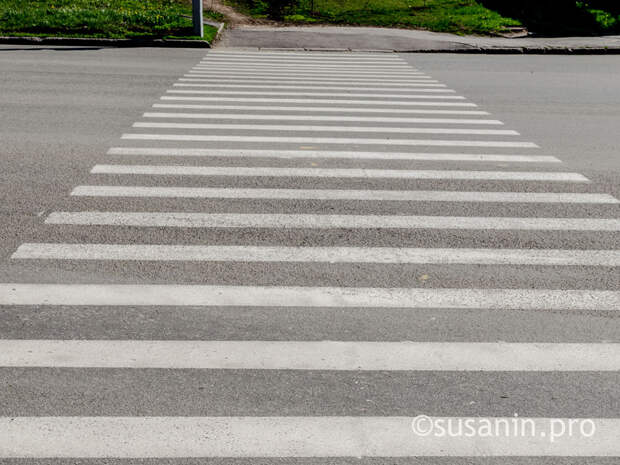 В Ижевске оборудуют два новых пешеходных перехода